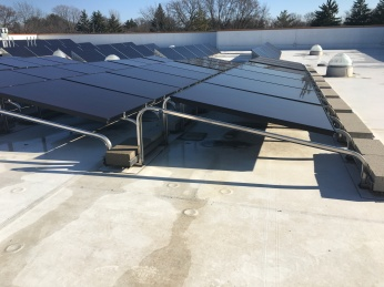 Roof-top Solar Racks in Wisconsin