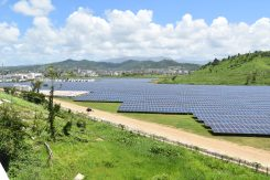 Large utility-scale solar site in Humacao