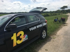 Interview with NBC13 in Rockford